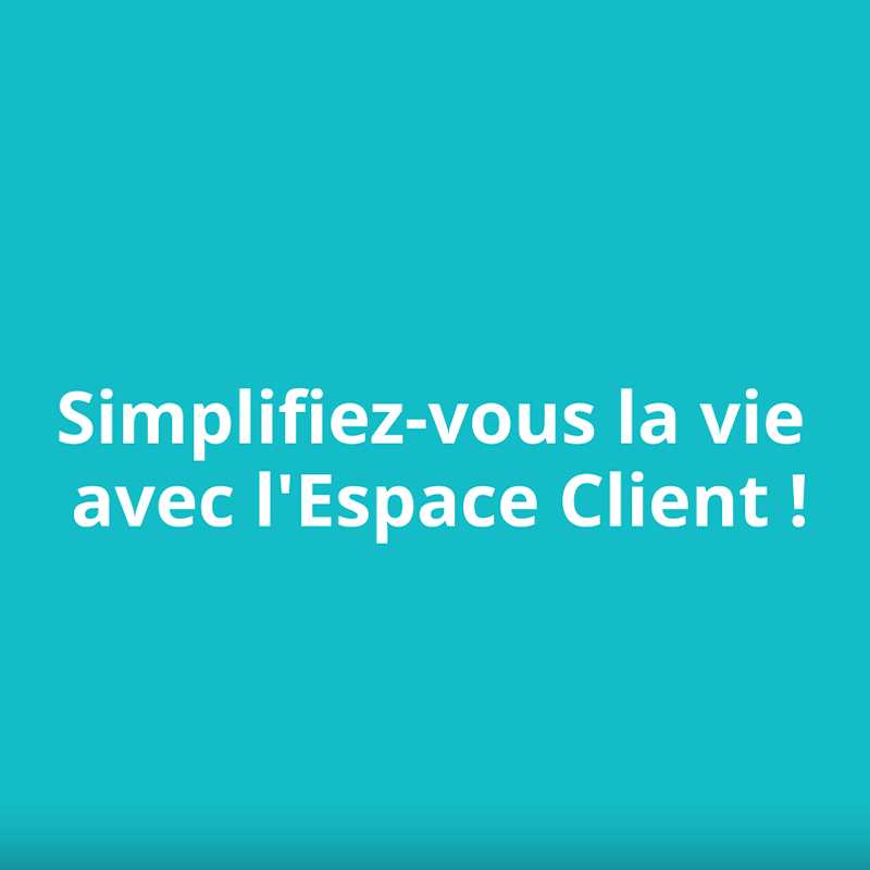 Ecran 1 video Espace Client axa.fr